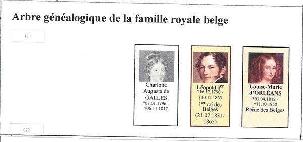 arbre g n alogique de la famille royale belge 1 4. Black Bedroom Furniture Sets. Home Design Ideas